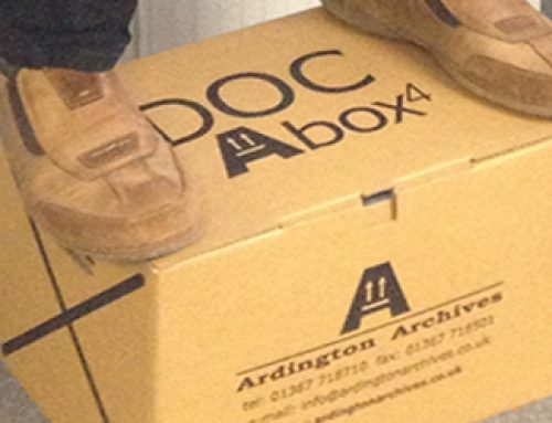 A Few Words about the humble Cardboard Box